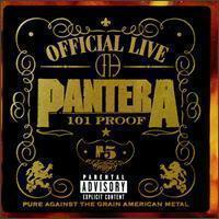 Pantera / Official Live : 101 Proof (미개봉)